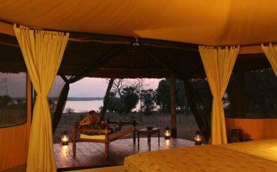 Safari in lodge in Africa