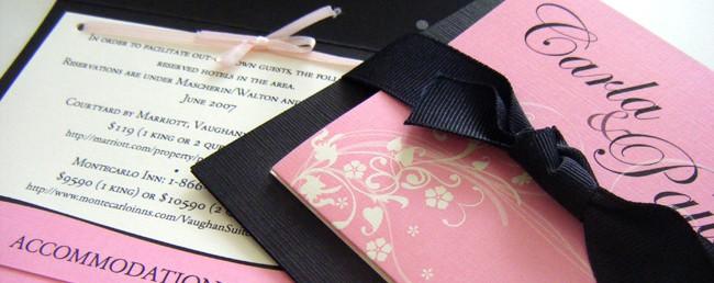pieghevole 3 ante inviti matrimonio