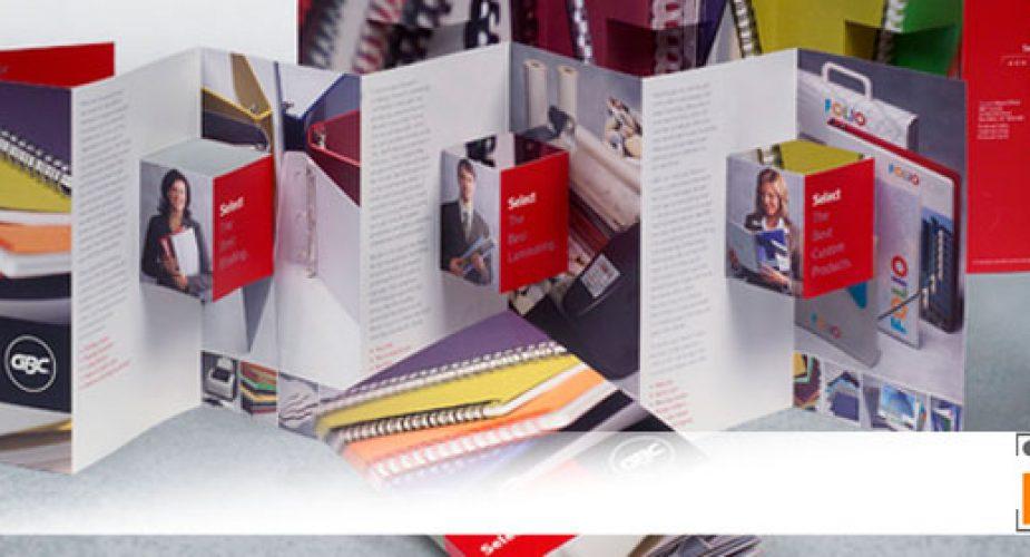 Presenta le tue idee in modo esclusivo, stampa online brochure pubblicitarie