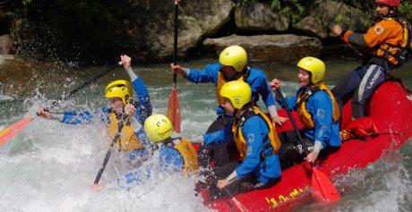 Rafting Südtirol: Avventure per tutta la famiglia in Alto Adige.
