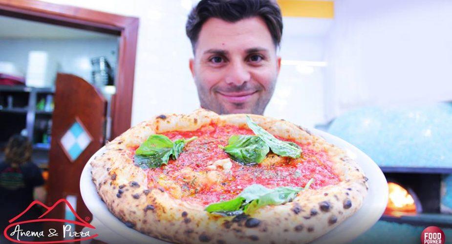 """Luca Piscopo e la storia della pizza """" Anema & Pizza"""""""