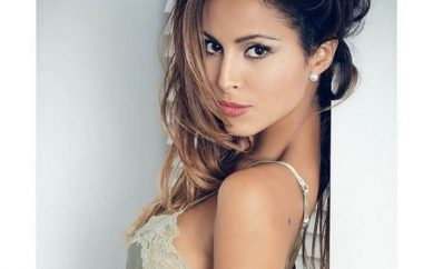 Mariana Rodríguez, la showgirl giurata a Napoli per Miss Europe Continental 2017