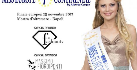 Miss Europe Continental 2017 – La Finale Europea