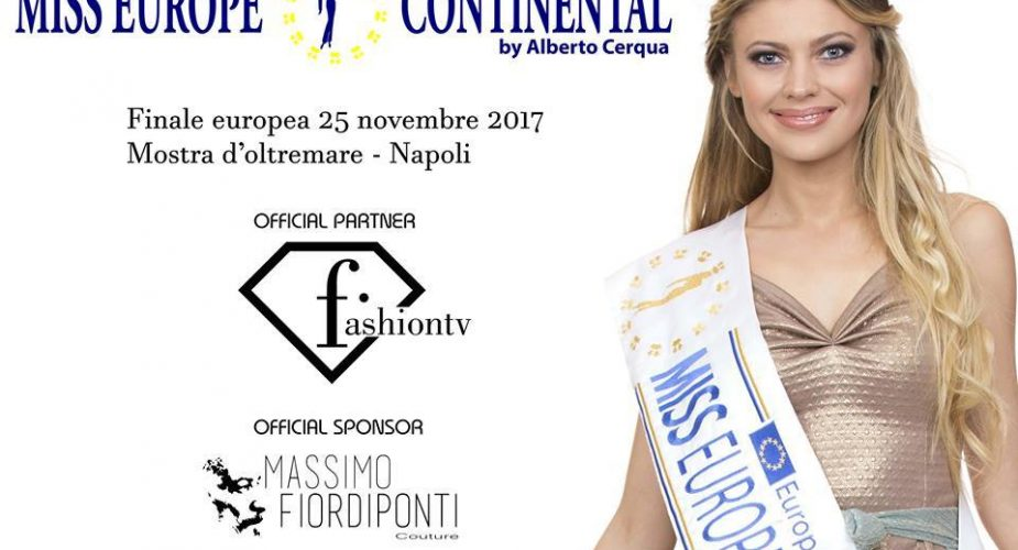 Miss Europe Continental 2017 gran finale europea