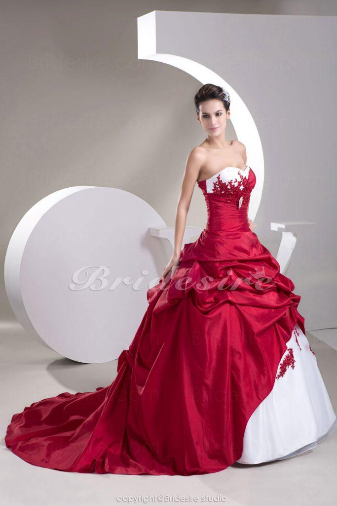 abito da sposa palloncino