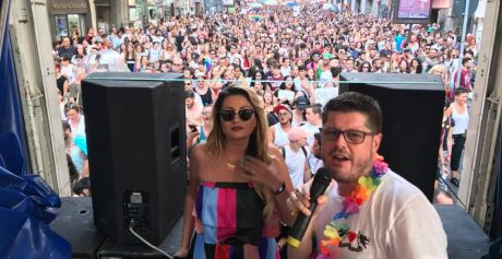 EMILIANA CANTONE, SUCCESSO AL PRIDE DI NAPOLI