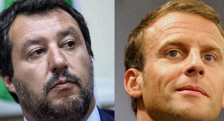 Salvini: 'Macron dovrebbe occuparsi dei francesi visto che i sondaggi dicono che è al minimo storico'