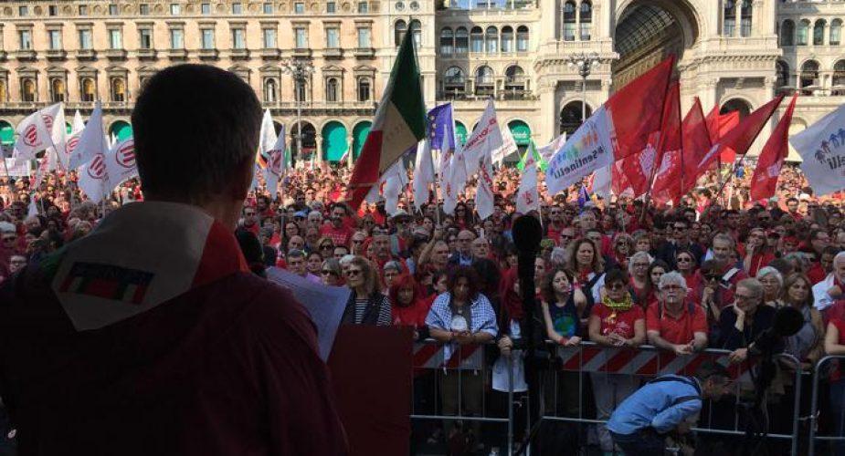 Manifestazione 'Intolleranza zero' a Milano