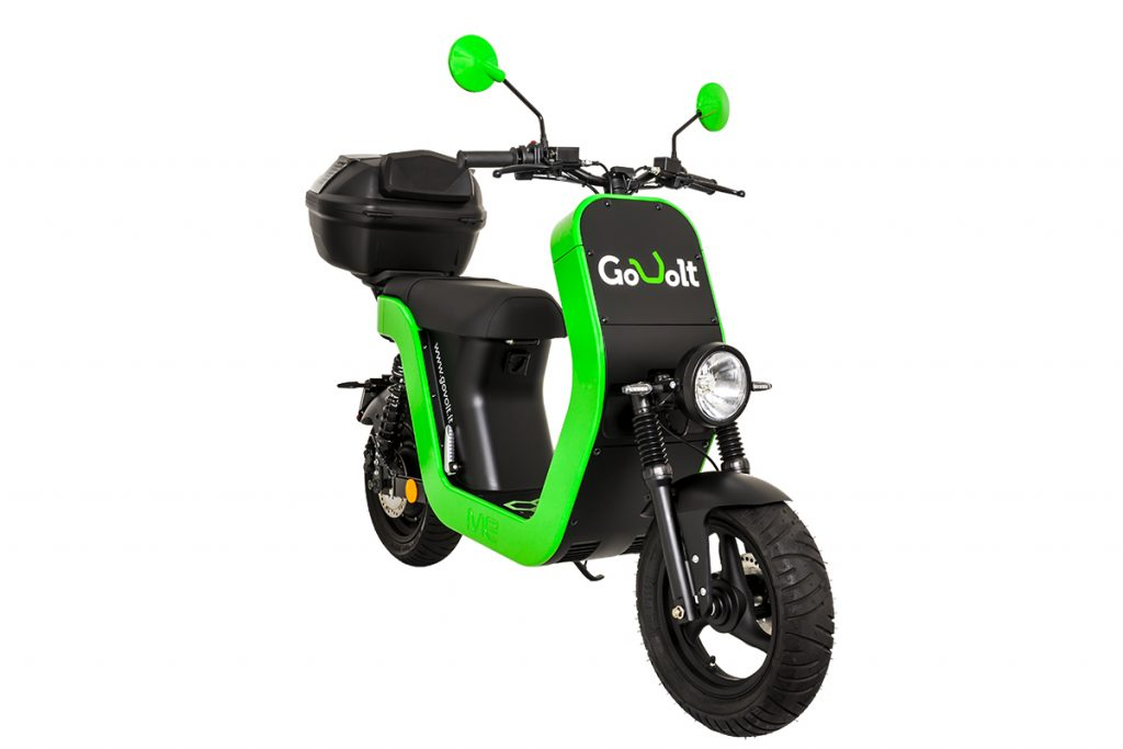 govolto scooter elettrico milano sharing mobility
