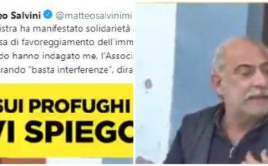 """Mimmo Lucano, contro il sindaco di Riace Salvini rilancia sui social il video di un pregiudicato: """"Era un prestanome"""""""
