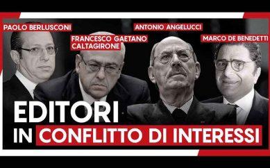 """M5S: """"Ecco i 5 giornali italiani con i maggiori conflitti di interesse"""""""