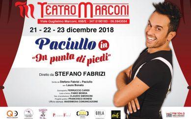 """PACIULLO, protagonista assoluto dello show """" IN PUNTA DI PIEDI"""""""