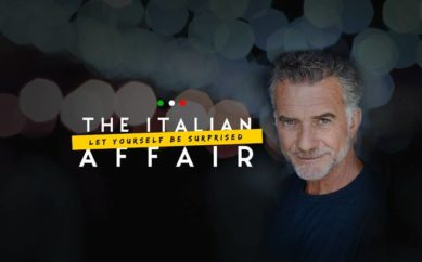 """""""THE ITALIAN AFFAIR"""" di  Fabio Massimo Bonini da Youtube passa alla  Tv"""