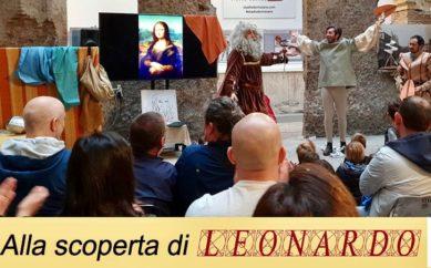Domenica 27 ottobre la Mostra di Leonardo al Palazzo della Cancelleria di Roma ospita lo spettacolo sulla vita di Leonardo Da Vinci