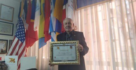 DOMENICO CANNONE PREMIATO DAL GRAN PREMIO INTERNAZIONALE DI VENEZIA DEL LEONE D'ORO