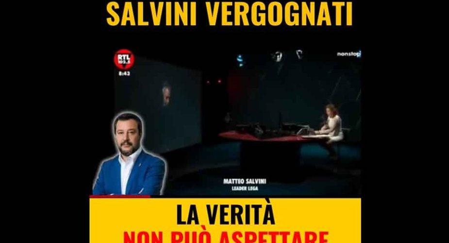 Coronavirus, M5S contro Salvini: «Vergognati! La verità non può aspettare»