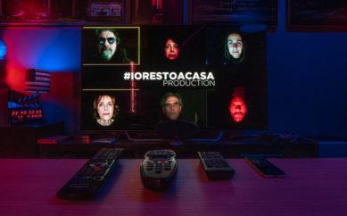 #iorestoacasa diventa intrattenimento, Trappola è primo show